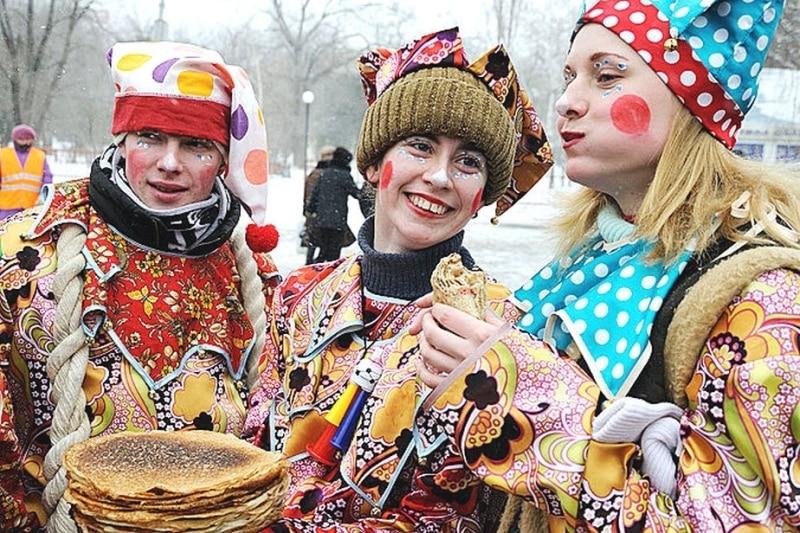 Maslenica in Russia