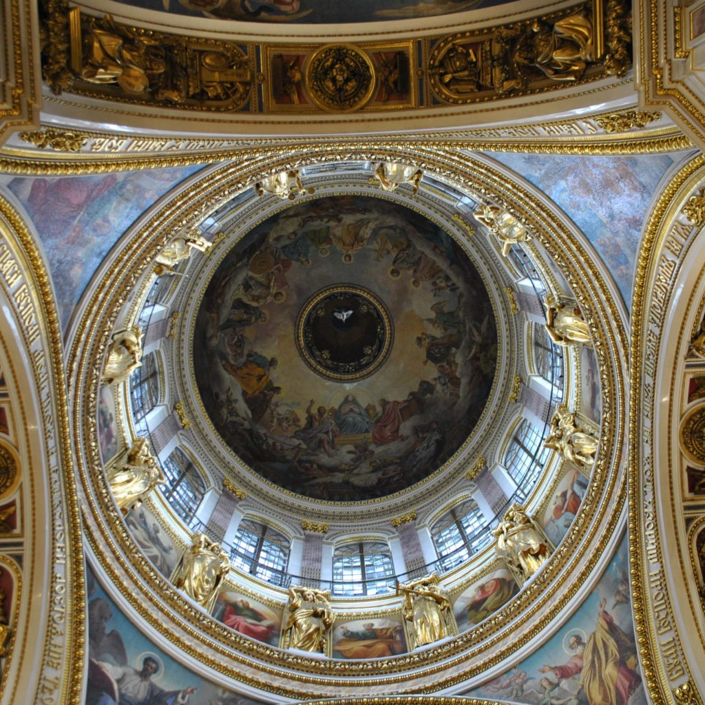 Dome of St.Isaac's Cathedral