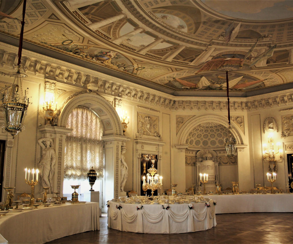 Gala Dining Room in Pavlovsk Palace
